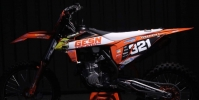 450 SX-F 2020 de Guillaume Travert
