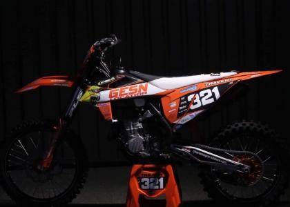 450 SX-F 2020 de Guillaume Travert